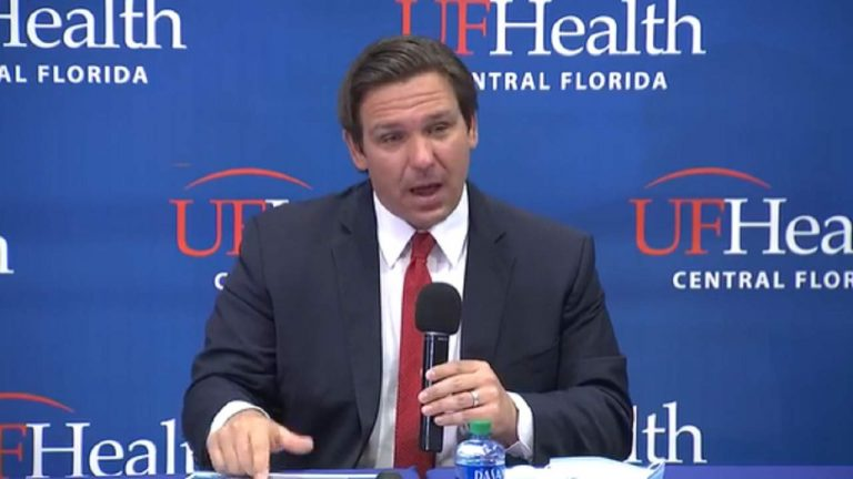 "Ron DeSantis advierte que los datos de COVID-19 son ""obsoletos"""